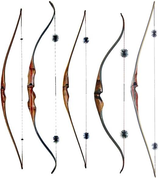 Longbows and recurve bows