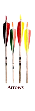 Stock Wooden Arrows