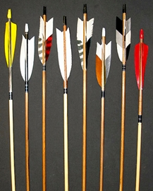 Traditional Wood Custom Arrows