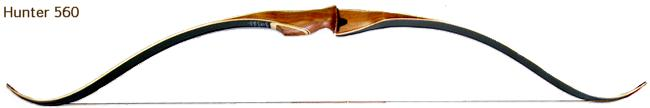 Fedora 560 Hunter one peice Recurve bow sold at Traditional Archery Supply