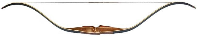 St. George SICKLE Recurve Bow back