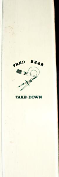 Fred Bear Vintage Tournament Takedown - Used / Vintage / Collectable - name