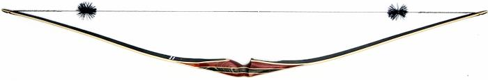 Galaxy Black Ridge Hybrid Longbow back