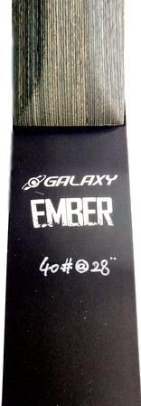 Galaxy Ember Takedown Recurve Bow name