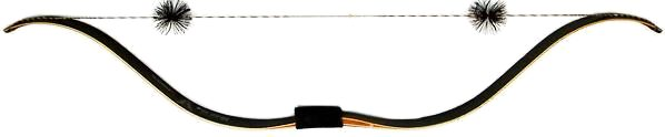 Samick MIND-50 Recurve bow back