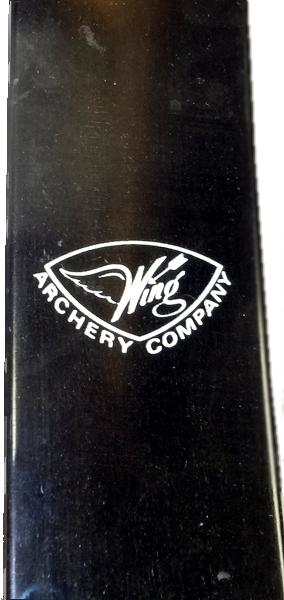 Wing Presentation 2 Recurve - Black - used  - Used - Logo